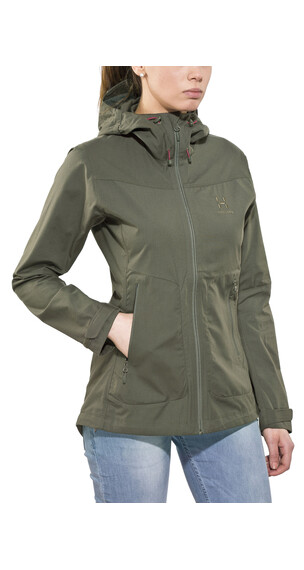 Haglöfs Trail Jacket Women beluga